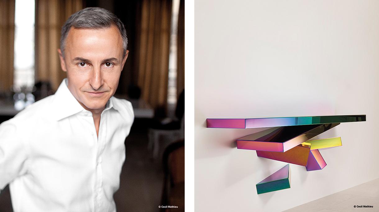 Signatures Singulières Magazine. Hervé Van der Straeten. Console Chaos Rainbow.