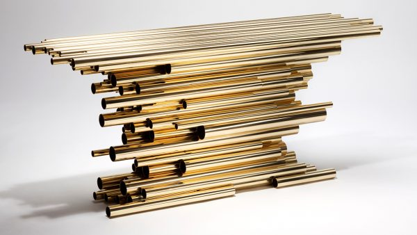 Signatures Singulières Magazine. Hervé Van der Straeten. Console Pipe Show.