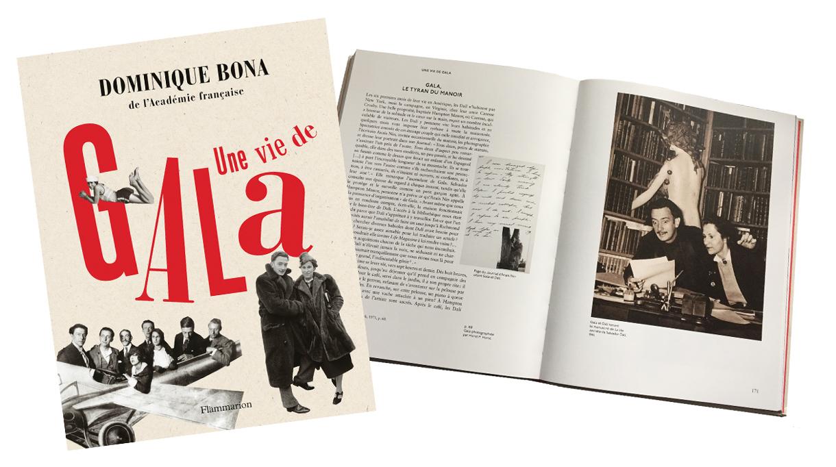 Signatures Singulières Magazine. Editions Flammarion. Une vie de Gala.