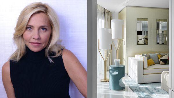 Stéphanie Coutas - Architecte d'intérieur - Galerie Negropontes - Art de la table Christofle - Appartement à Cannes - Canapés blancs - Signatures Singulières - Magazine digital des talents Français