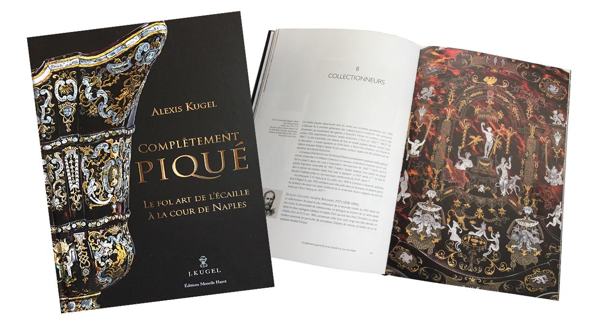 Signatures Singulières Magazine. Livre Complètement Piqué, paru aux Edtions Monelle Hayot.