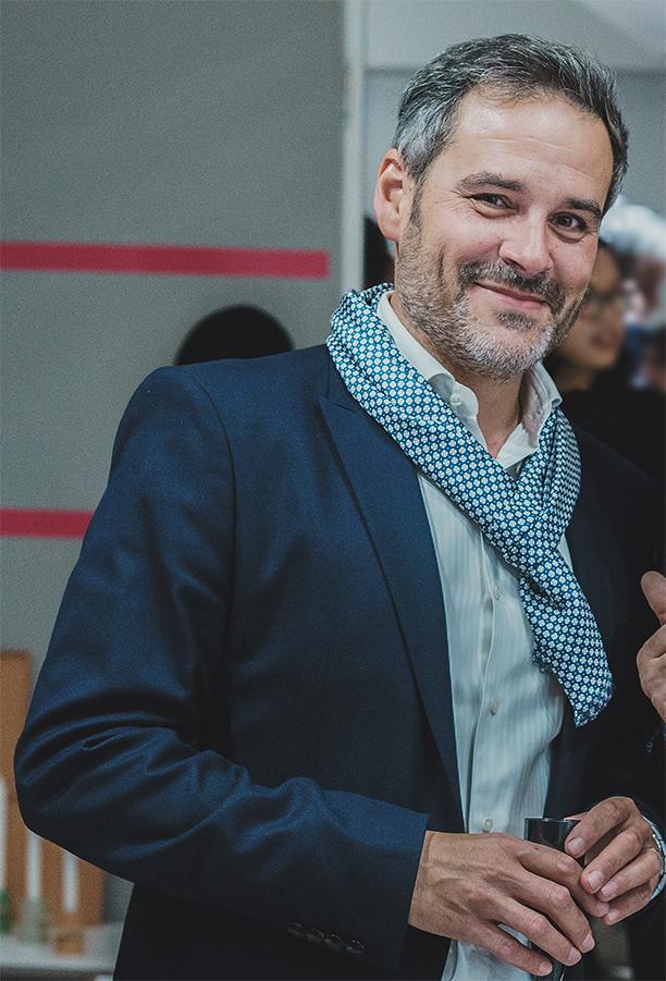 miguel Duterrier, directeur de la publication, de Signatures Singulières Magazine.
