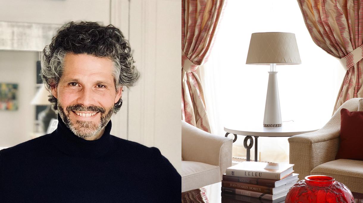 Signatures Singulières Magazine. Lampe Darius de Nicolas Aubagnac