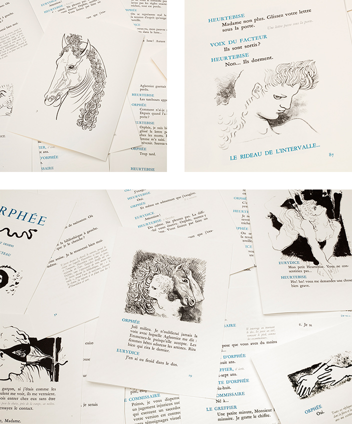 Signatures Singulières Magazine. Orphée de Jean Cocteau aux éditions des Saints Pères.