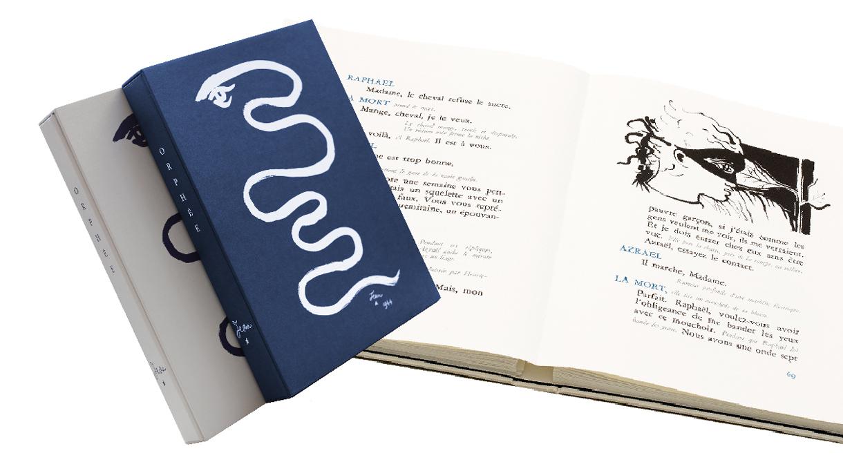 Jean Cocteau - Orphée Editions des Saint Pères. Livre d'art - Signatures Singulières - Le magazine digital des talents Français.