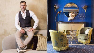 Signatures Singulières Magazine. Maison Nabis. Oscar Lucien, décorateur d'intérieur.