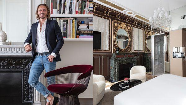 Signatures Singulières Magazine, présente Laurent Maugoust, architecte d'intérieur.
