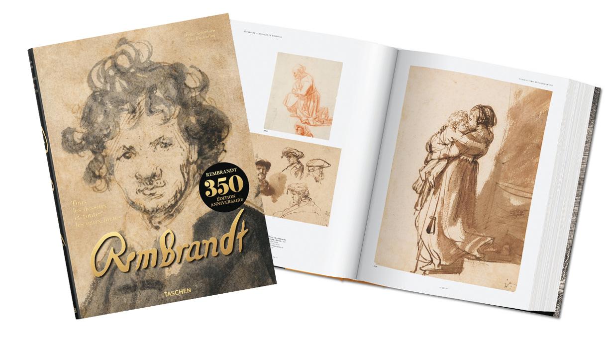 Signatures Singulières Magazine. Rembrandt aux Editions Taschen.