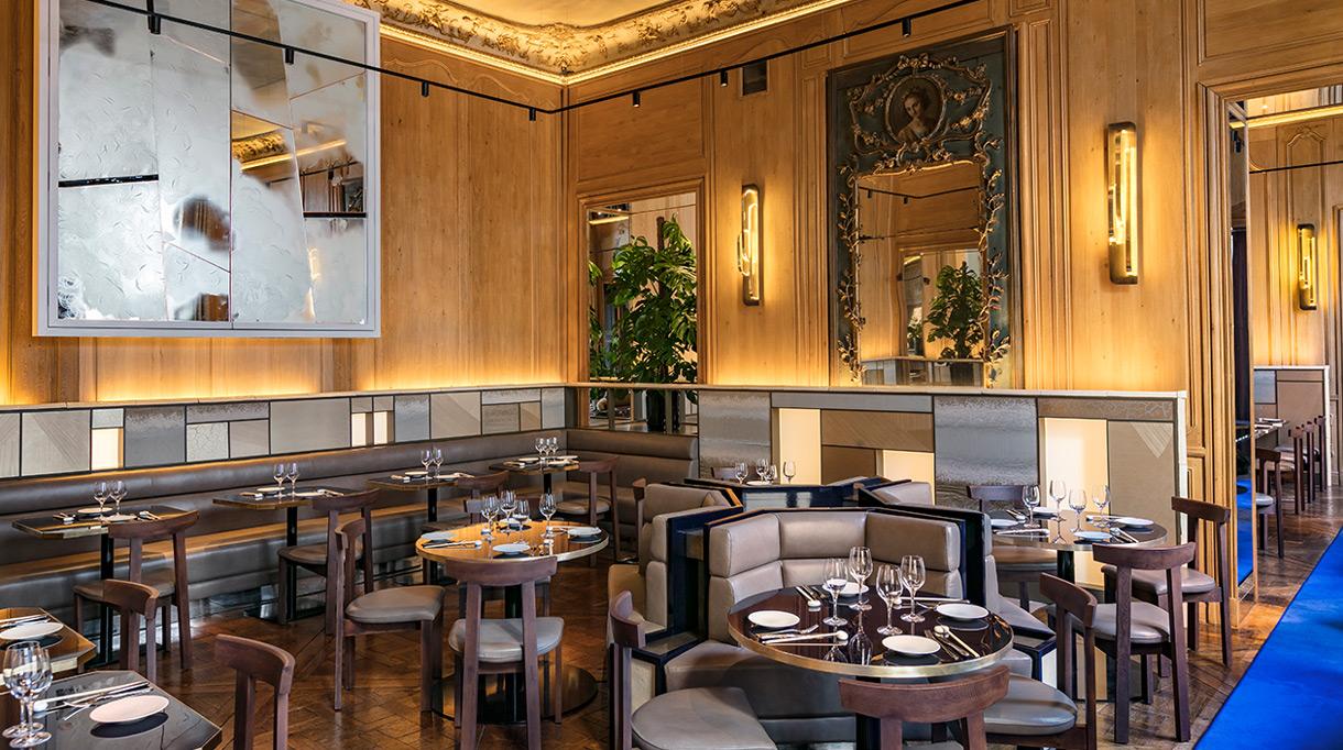 Signatures Singulières Magazine. Tristan Auer signe la décoration du restaurant Ran à Paris.