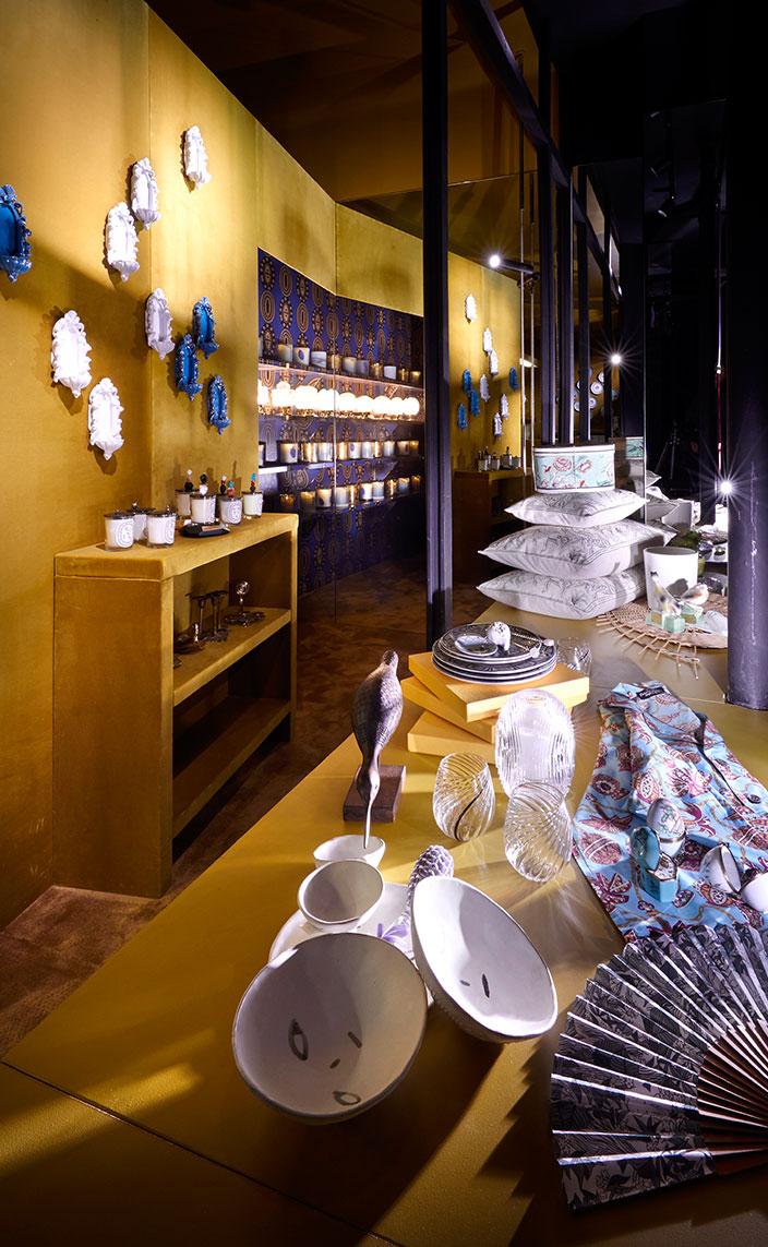 Signatures Singulières - Diptyque - le Bazar Diptyque - Art de la table - Accessoire pour la maison - Designer Pierre Marie