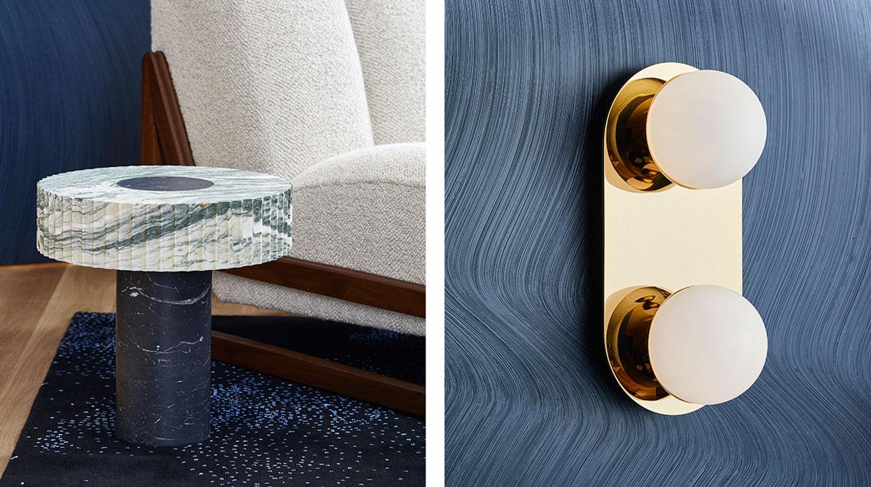 signatures singulières - Humbert & Poyet - Architecte d'intérieur - Nouvelle collection de mobilier - Applique en laiton