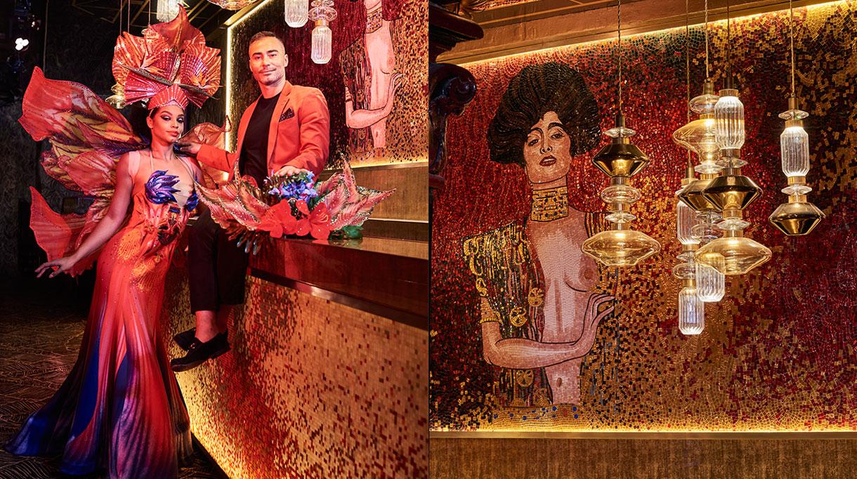 Signatures Singulières - Oscar Ono - Architecte d'intérieur - Paradis Latin - Salle de spectacles à Paris - Cabaret - Kamel Ouali - Klimt