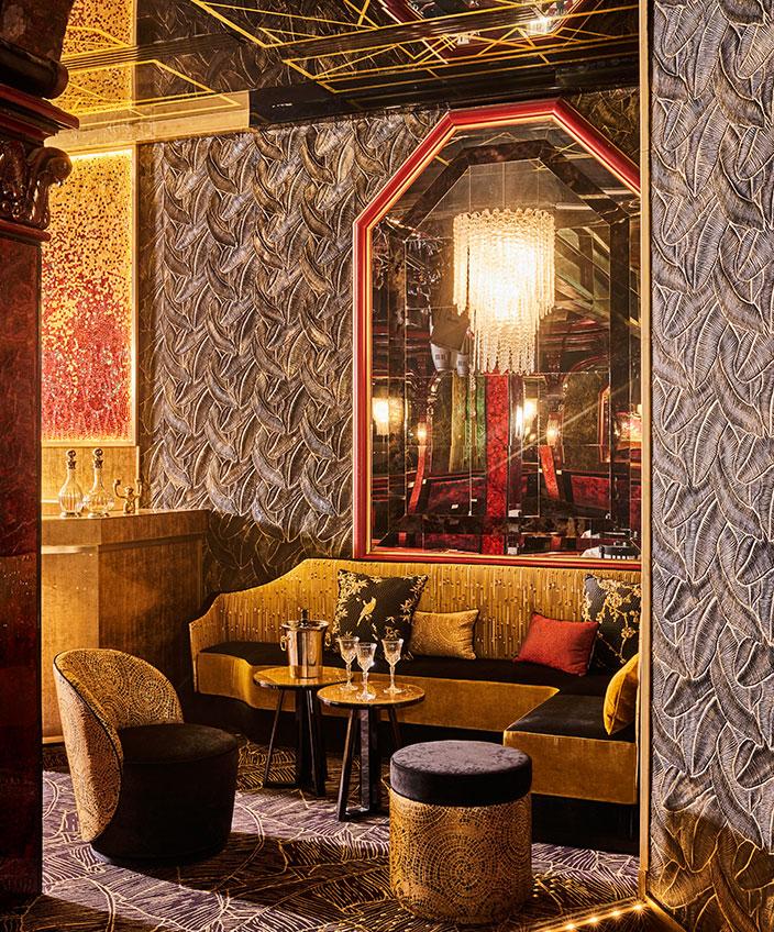 Signatures Singulières - Oscar Ono - Architecte d'intérieur - Paradis Latin - Salle de spectacles à Paris - Ambiance baroque - Couleur doré