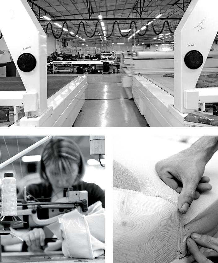 Duvivier Canapés - Atelier Duvivier Canapés - Sellier - Canapé en cuir contemporain - Canapé sur-mesure - Made in France - savoir faire Français - Entreprise EPV - Signatures Singulières Magazine
