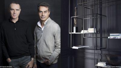 Bismut&Bismut - Architecte d'intérieur - Bibliothèque noire - Mur noir - interior designer -Signatures Singulières