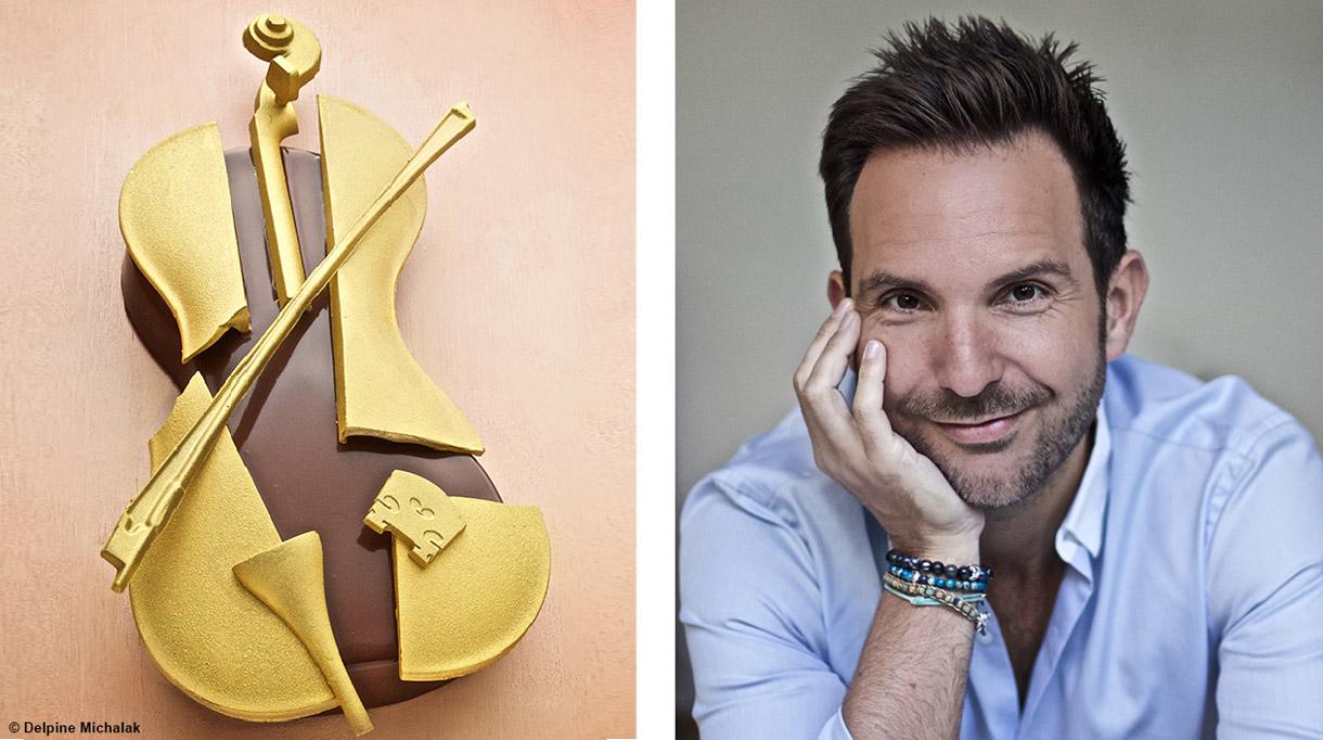 Buche de Noël Christophe Michalak - Chef patissier - Signatures Singulières