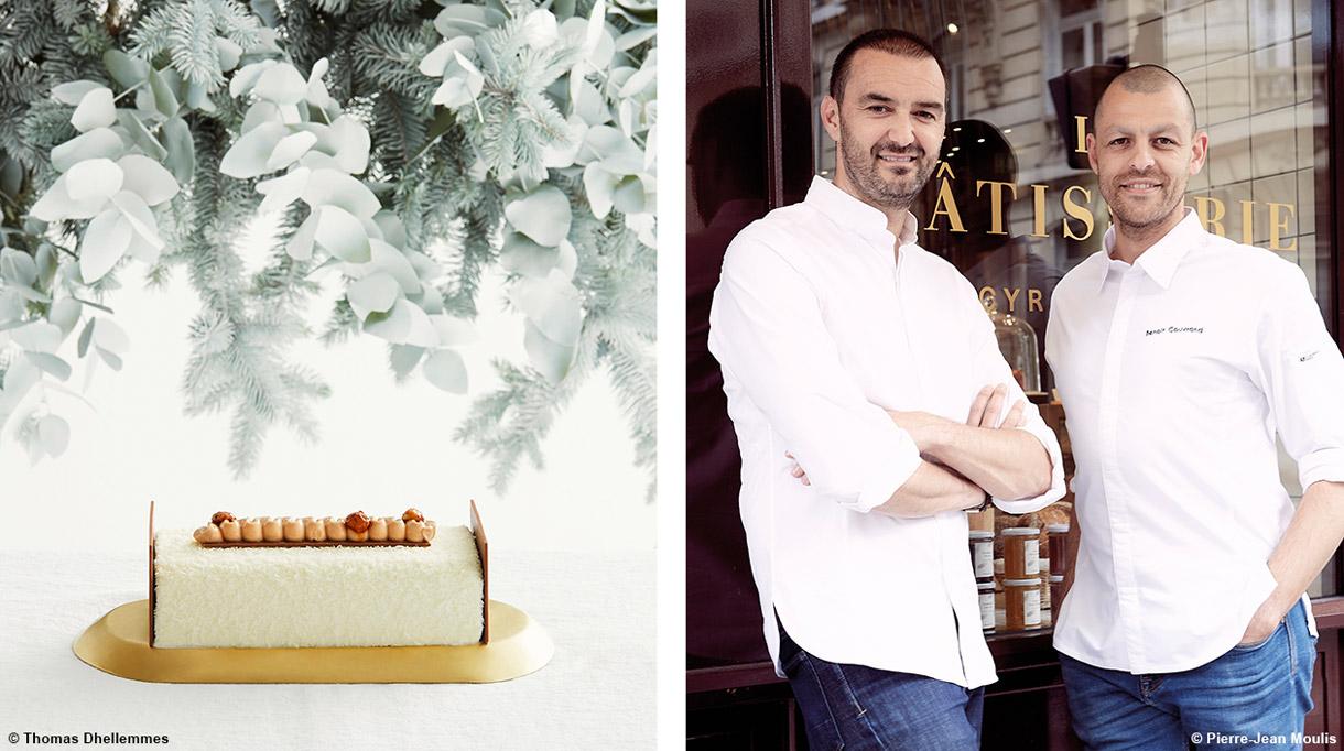Buche de Noël 2019 - Cyril Lignac - Benoit Couvrand - Chef patissier - Buche passion coco - Signatures Singulières