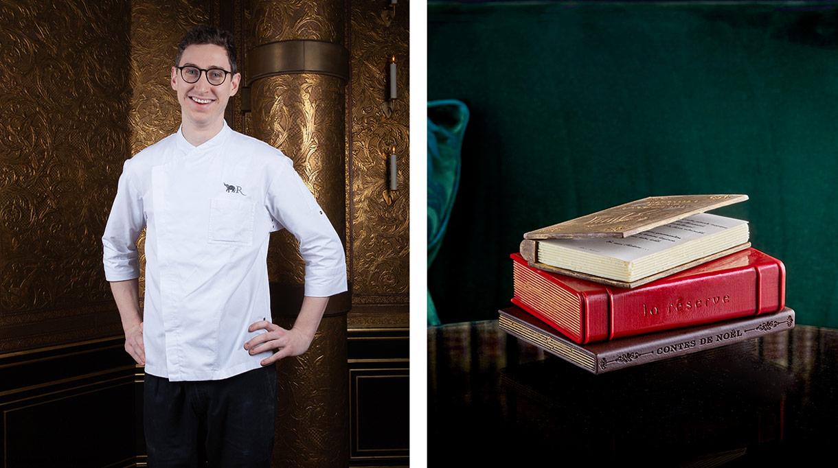 Restaurant la Reserve Paris - Bûche de noël - Adrien Salavert - Chef Patissier - Signatures Singulières