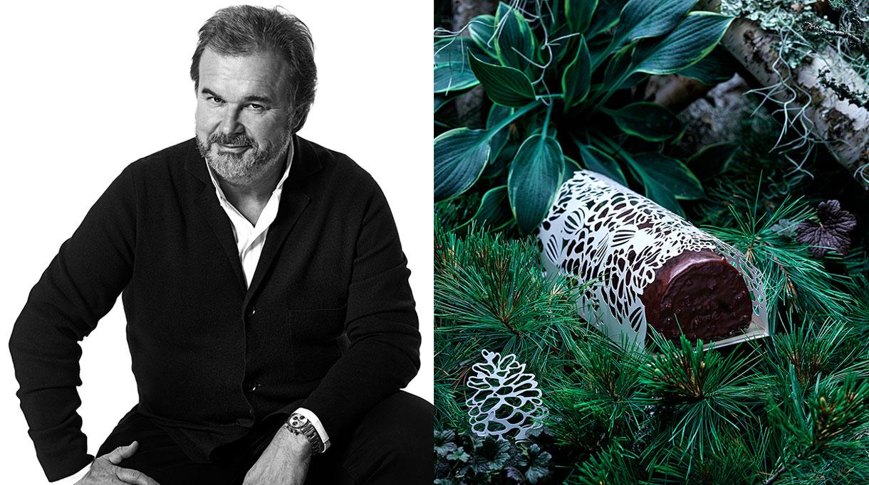 Buche de Noël 2019 - Pierre Hermé- Chef Patissier - Signatures Singulières