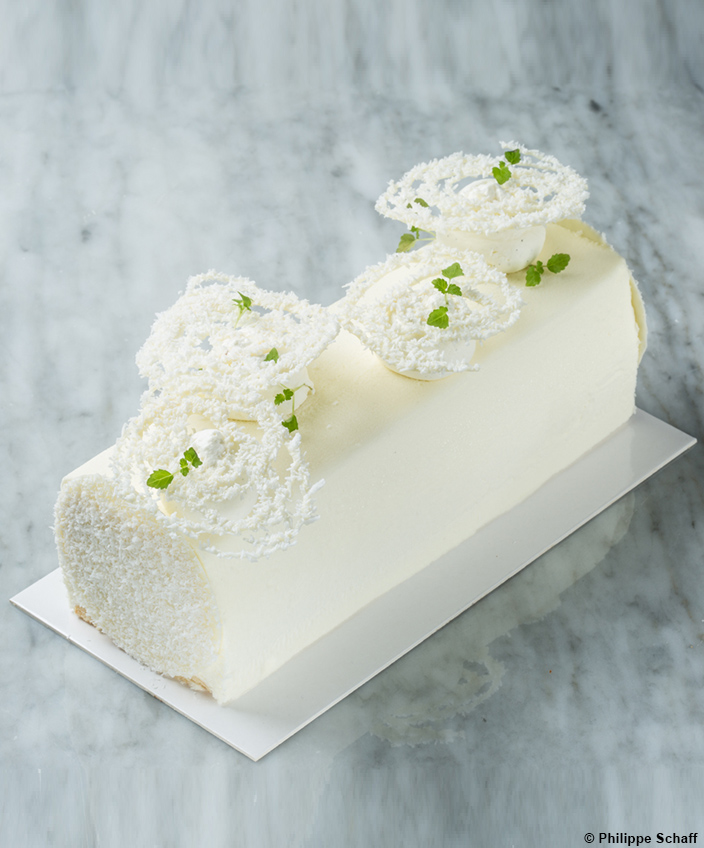 Buche de Noël 2019 - Restaurant Perlin Tatin - Rueil Malmaison - Signatures Singulières