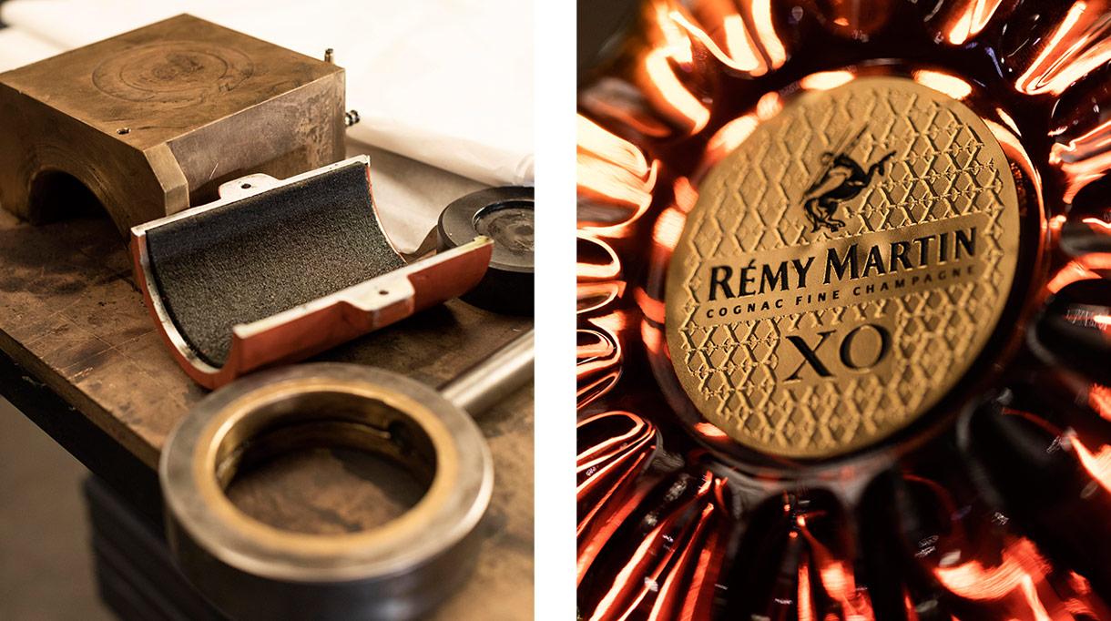 Signatures Singulières - Steavens Richard - Ferronnier d'art - Rémi Martin - Cognac XO - Centaure