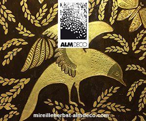 Alm -Déco - Mireille Herbst - Laqueur - L'art de la laque - Signatures Singulières