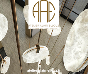 Alain Ellouz - Luminaire en albâtre - Signatures Singulières - Magazine digital des talents Français