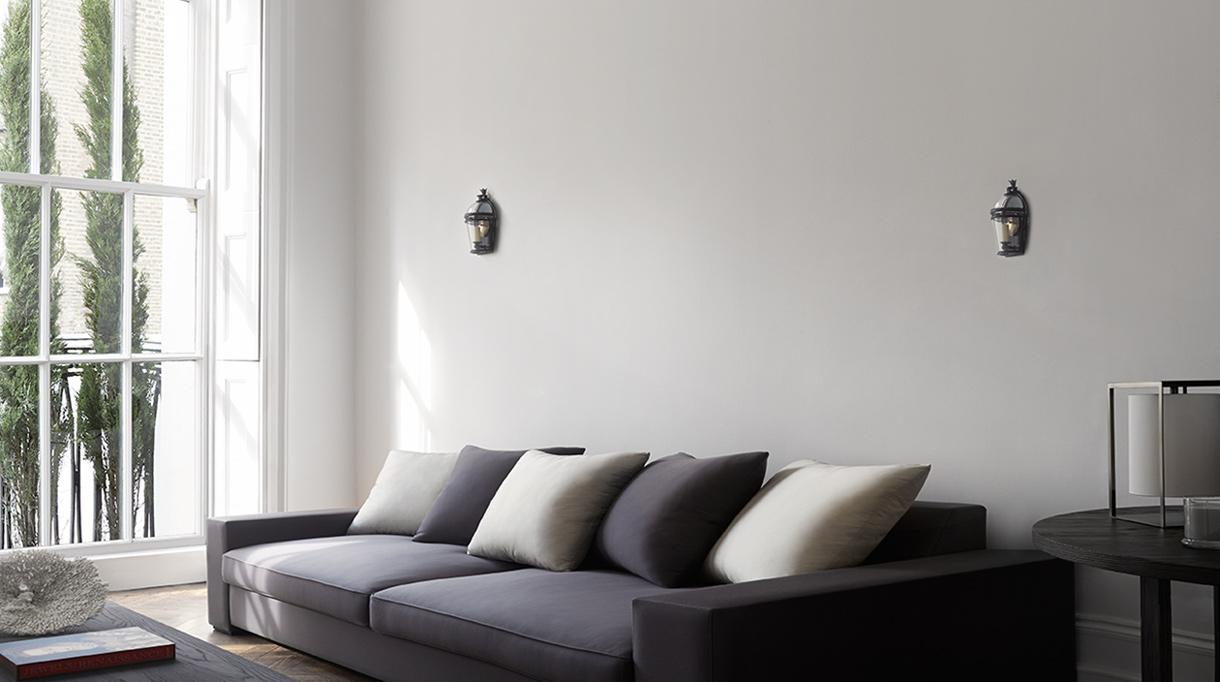 Guillaume Alan - Architecte d'intérieur - Appartement à Hyde Park à Londres - canapé gris - Signatures Singulières - Magazine digital des talents Français