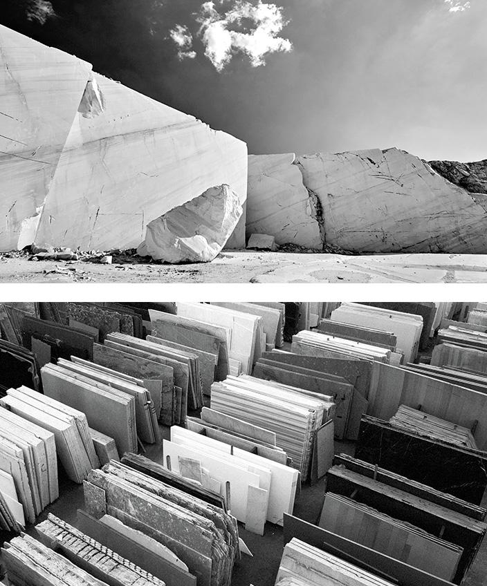 Marbrerie de la Seine - carrière de marbre - atelier Marbrerie de la Seine - Signatures Singulières