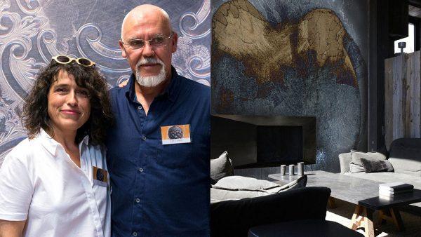 Labo-leonard - créateur de papier peint contemporain - Panoramique - Composition murale - Signatures Singulières - Magazine digital des talents Français