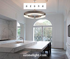 ozone light - luminaire contemporain - Etienne Gounot et Eric Jähnke - cuisine en marbre - joseph dirand - Signatures Singulières Magazine - magazine digital des talents français