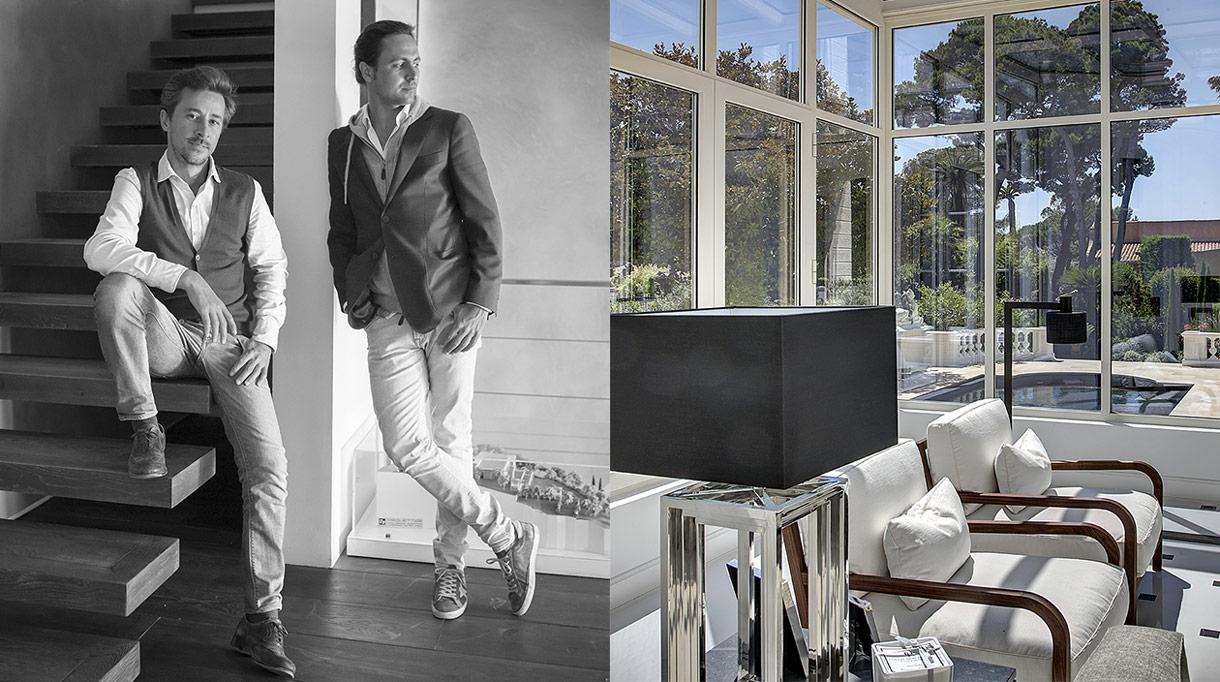 Caprini & Pellerin - cabinet d'architectes à Cannes - architecte d'intérieur - Kevin Caprini et Jerry Pellerin - appartement contemporain au cap d'Antibes - veranda contemporaine - signatures Singulières Magazine - magazine digital des talents français