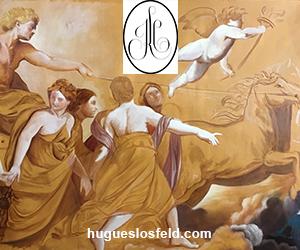 hugues losfeld - peintre en decor - decors muraux -