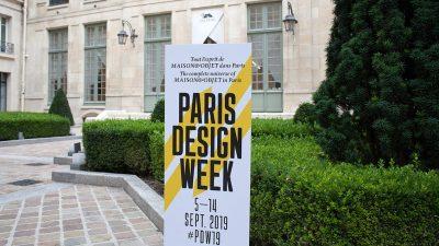 Paris design week 2020 - Hugues Chevalier - Duvivier Canapé - Philippe Hurel - Emaux de longwy - maison pouenat - humbert et poyet - signatures singulières - le magazine digital des talents français