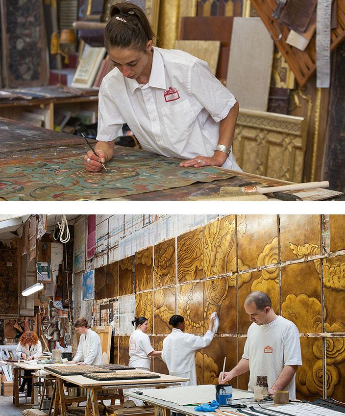 Atelier meriguet carrère - peinture murale - peinture décorative - signatures Singulières Magazine - magazine digital des talents français