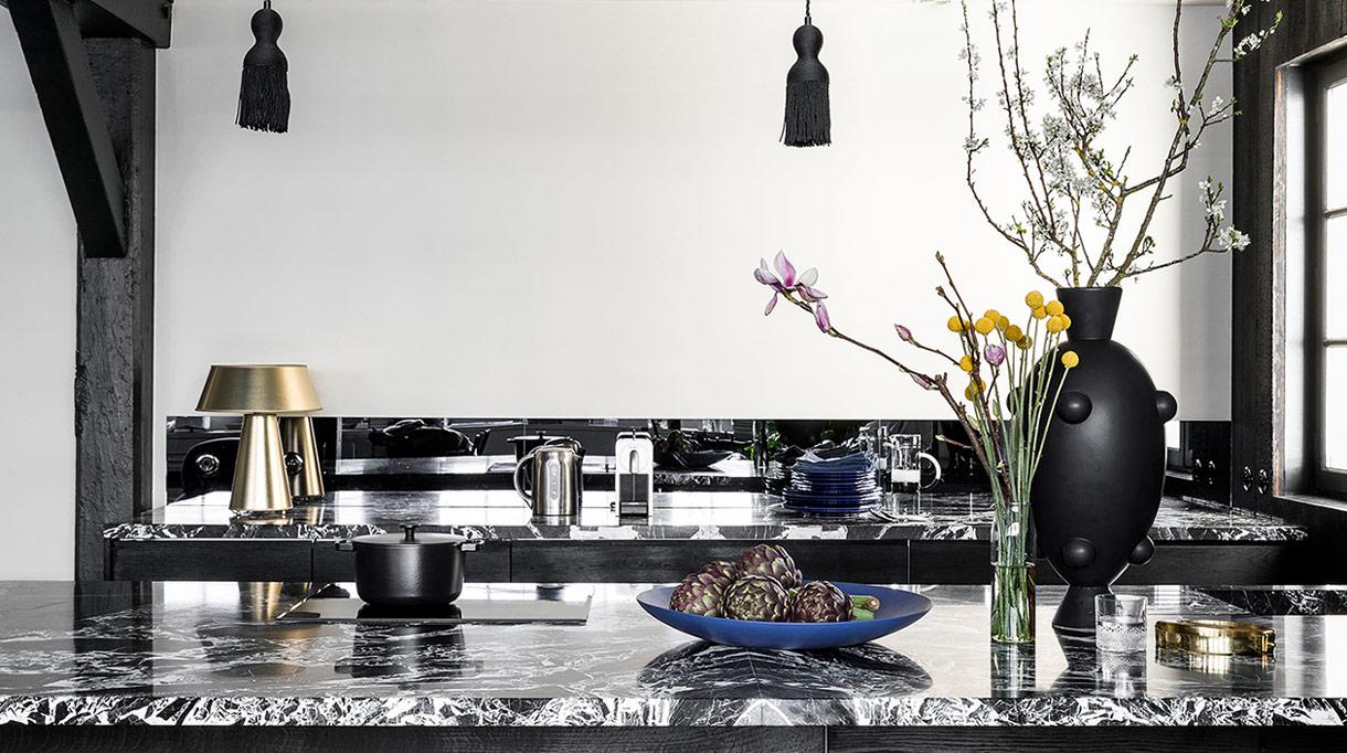 pierre gonalons - architecte d'interieur - the conran shop - plan de travail en marbre - signatures singulieres