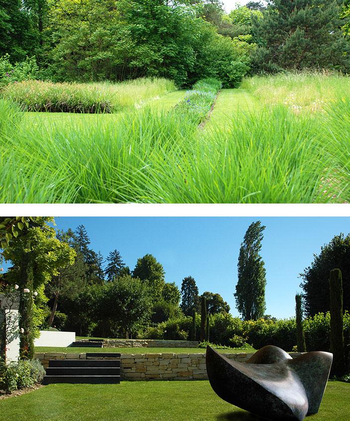 Architecte paysagiste - Christian Préaud - Atelier Jardins - Jardin paysagé - sculpture de jardin - Vesenaz - suisse - Signatures Singulières Magazine