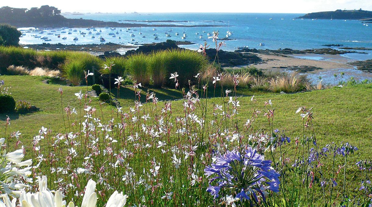 Architecte paysagiste - Christian Préaud - Atelier Jardins - Jardin paysagé - Bord de mer - Saint Briac - Bretagne - Signatures Singulières Magazine