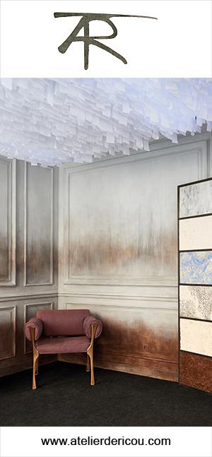 atelier de ricou - decors muraux - decors sur boiseries - signatures singulieres