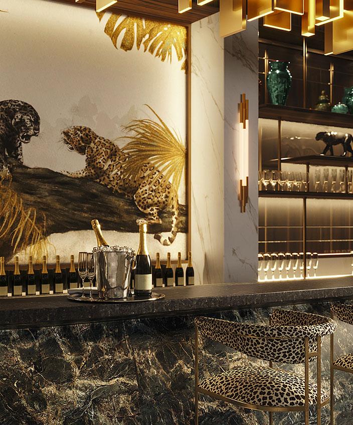 cedric peltier - oscar lucien ono - decor de pantheres - panther - equip hotel - signatures singulieres magazine