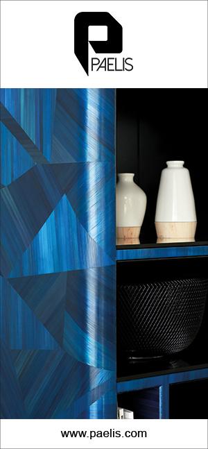 atelier paelis - marqueterie de paille bleue - signatures singulieres magazine