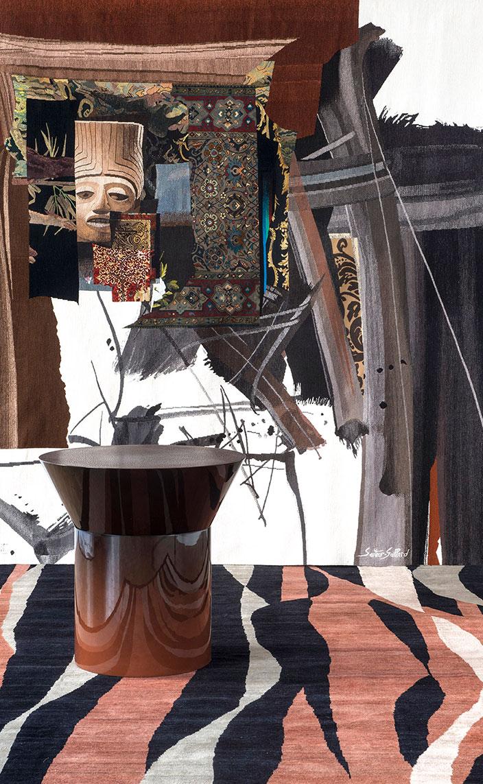 galerie chevalier - tapis parsua - tapisserie contemporaine - nicolas aubagnac - Jean-René Sautour-Gaillard - signatures singulieres - philippe montels - galerie patrick fourtin - le magazine digital des talents francais