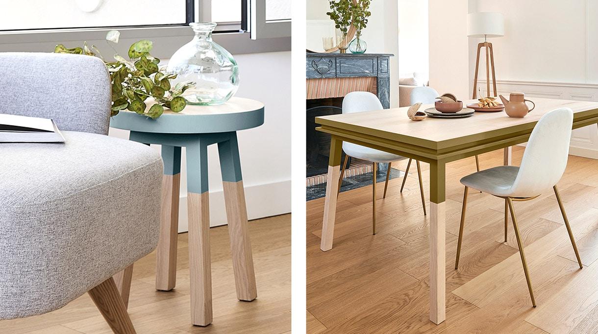 mon petit meuble francais - mobilier made in france - table de repas rectangulaire - savoir-faire francais - signatures singulieres - le magazine des talents français