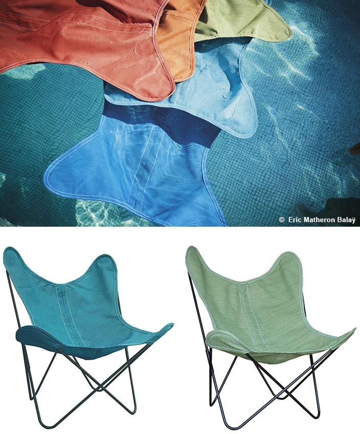 airborne - fauteuil outdoor - toile serge ferrari - savoir faire francais - signatures singulieres magazine