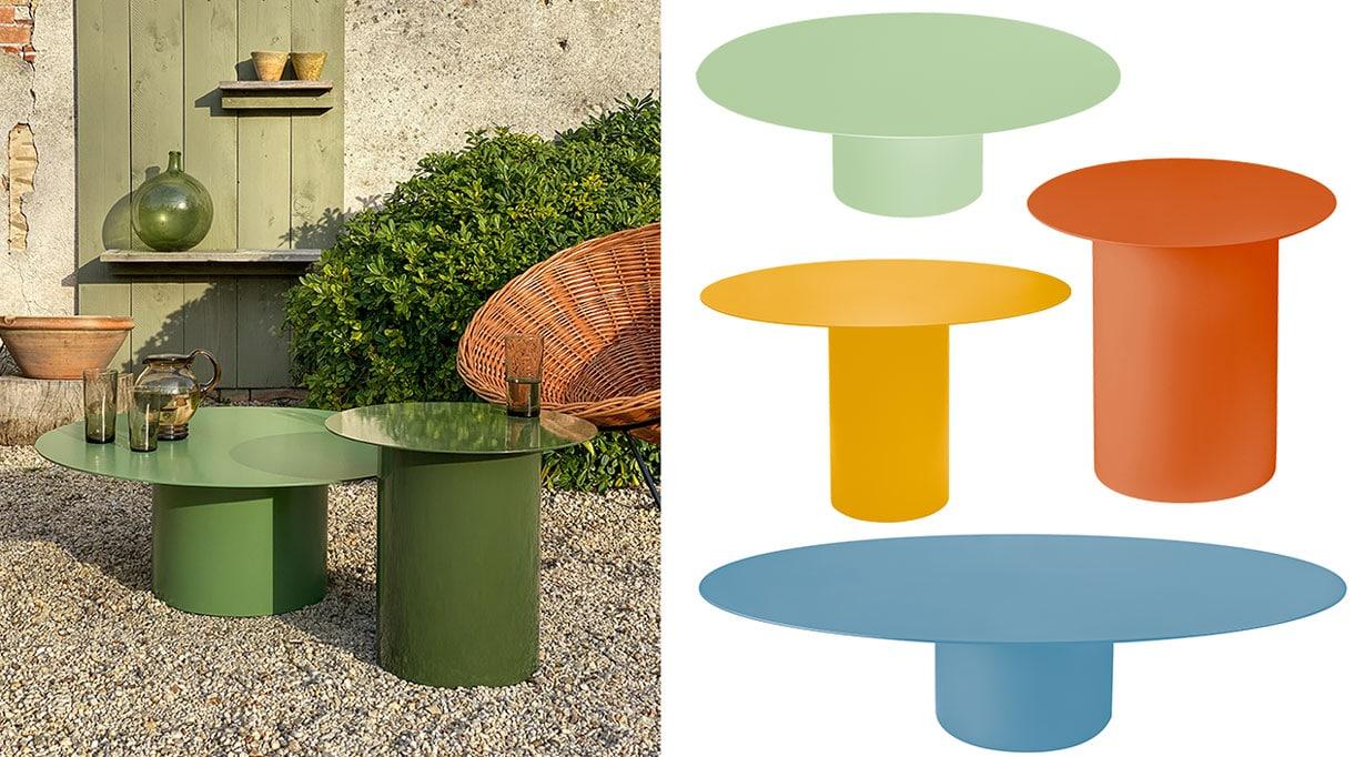 laurence du tilly - mobilier outdoor de couleur - mobilier outdoor en acier - savoir faire francais - signatures singulieres magazine