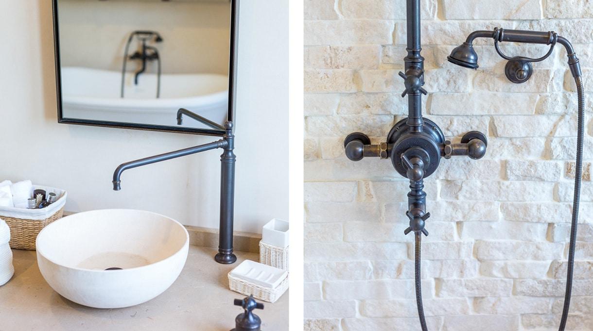 volevatch - manufacture de robinetterie francaise - robinetterie de salle de bain finition bronze - signatures singulieres magazine