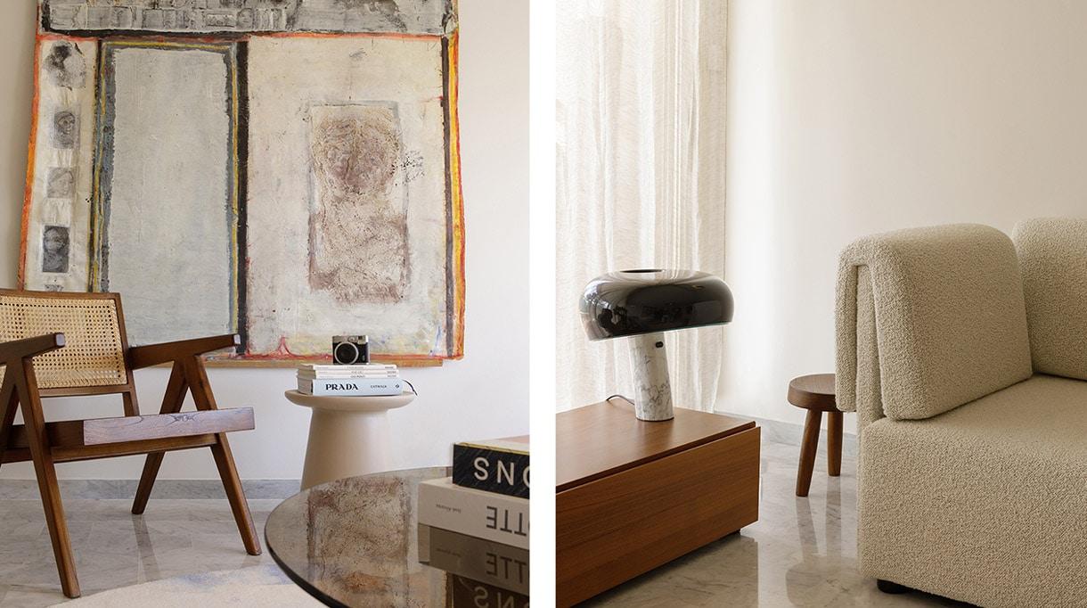 agence bleu gris- decorateurs d'interieur - lampe flos - the socialite family - jeanneret - moooi carpets - signatures singulieres magazine