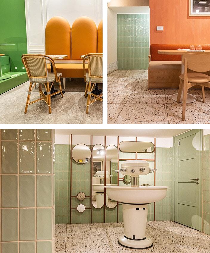 agence bleu gris- decorateurs d'interieur - restaurant italien Da Giulia à nice - signatures singulieres magazine