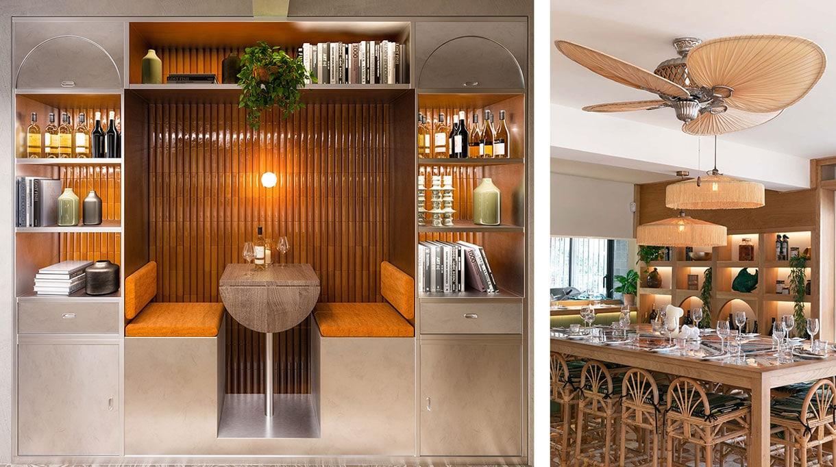 agence bleu gris- decorateurs d'interieur - restaurant fine gueule à nice - restaurant à tapas Z a nice - signatures singulieres magazine
