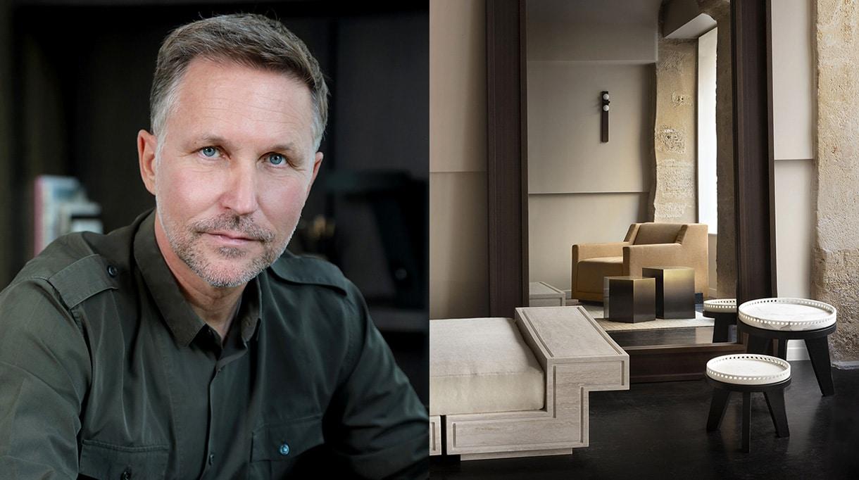 Galerie Stéphane Parmentier - signatures singulieres - le magazine des talents francais - architecte d'interieur - décoration intérieur - travertin - marbre